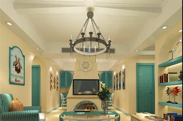 美翻的地中海家居设计,这真的不是餐厅