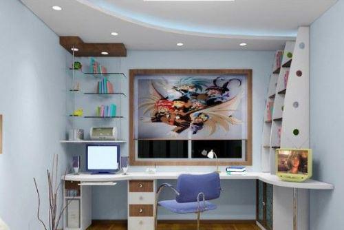 6款儿童房天花板设计 梦幻孩提最爱