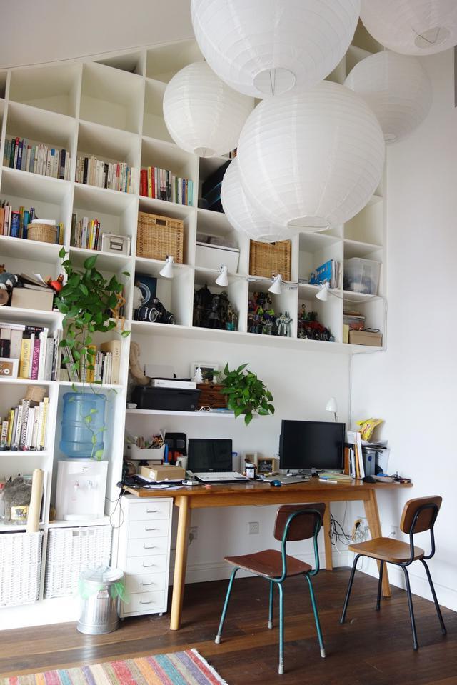 97平米打造简易12个空间, MUJI风格家