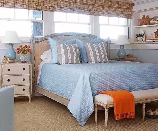 打造10款美式风格卧室 太容易了