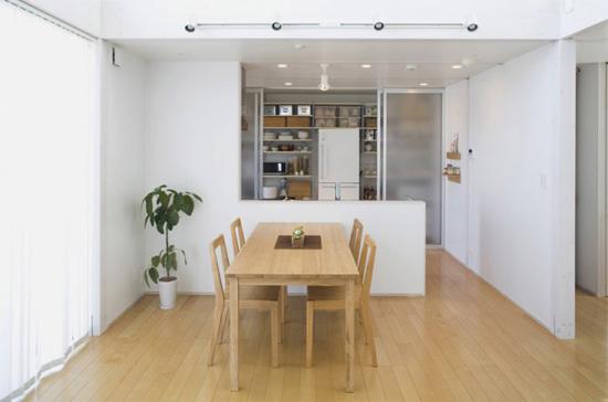 日式家装 素雅明亮的小户型