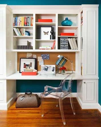 家小就不能有书房?不要太绝对
