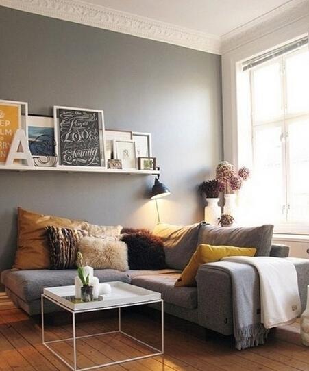 改变客厅光秃秃,14款墙面装饰最好看
