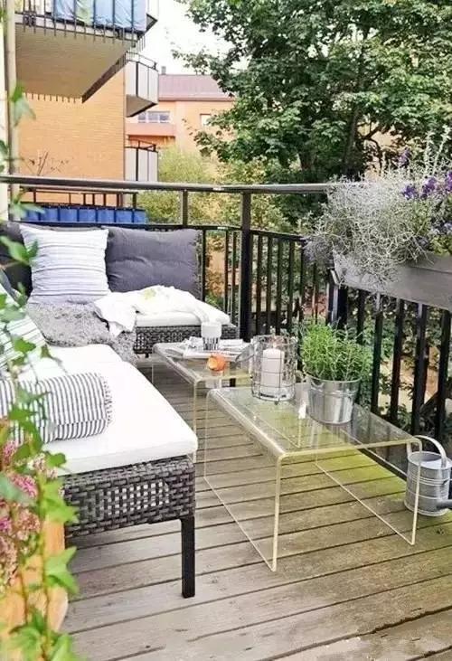能种种花草的阳台才是最温馨的