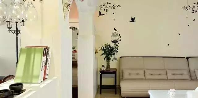 100平3居室田园风格装修,营造温馨家居!