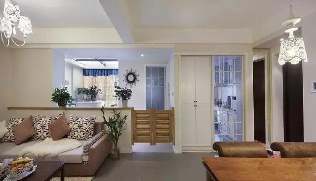 90平混搭二居室,小次卧巧改大客厅