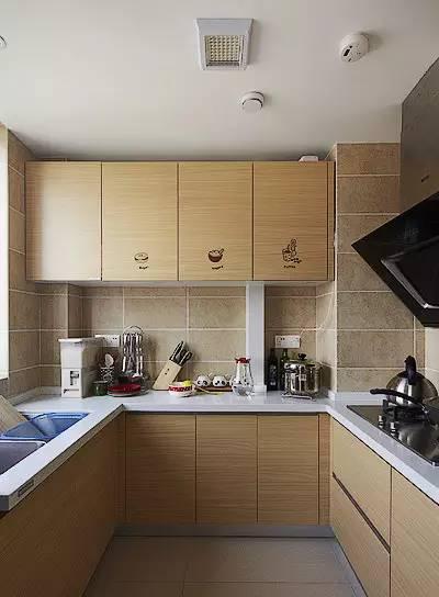 实用厨房装修案例,美观、实用都能做到!