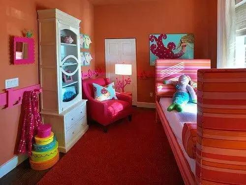 这卧室设计的真棒