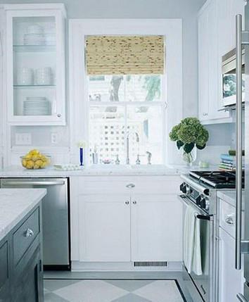 厨房色彩如何搭配,十全十美供你选择