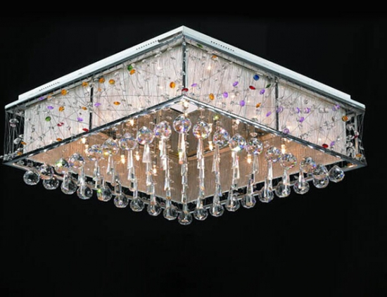 现代水晶灯清洗技巧
