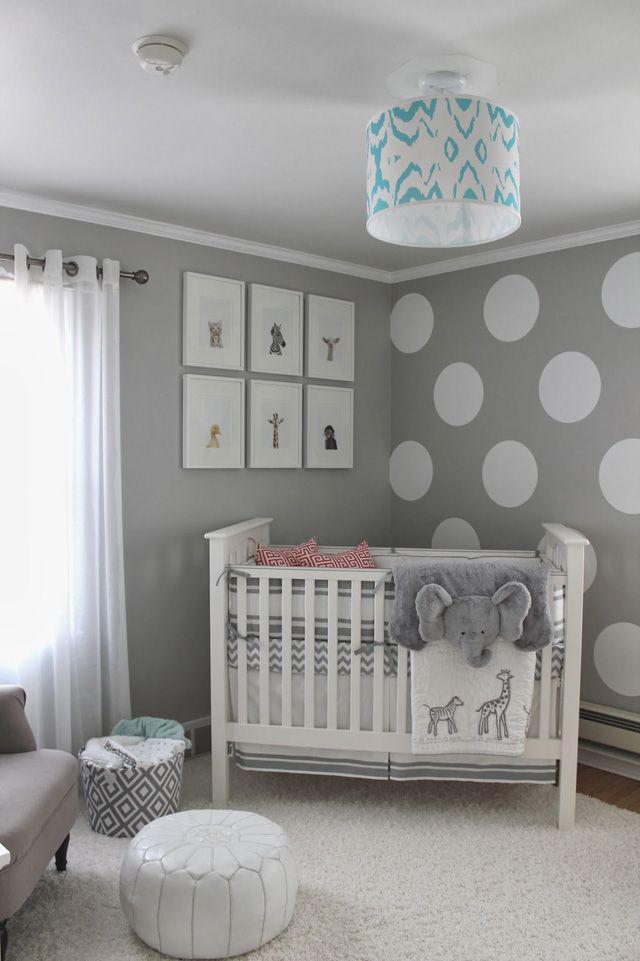 别人家的婴儿房,竟然装得辣么美!
