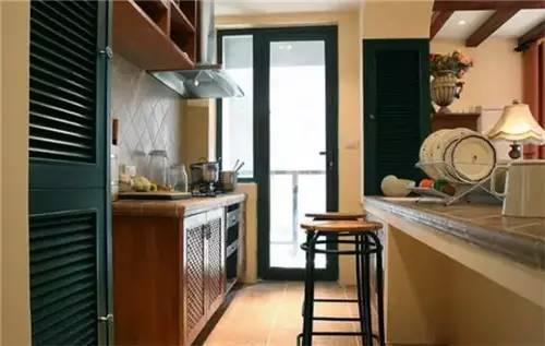 5款小空间厨房装修图 原来开放式厨房这样玩