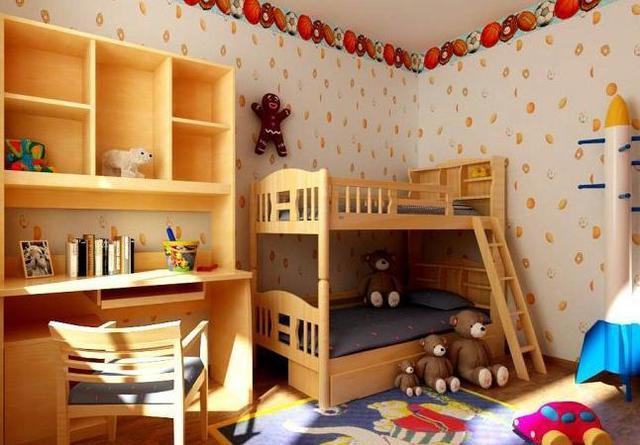 双人儿童房装修设计