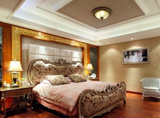 婚房床头布置效果图