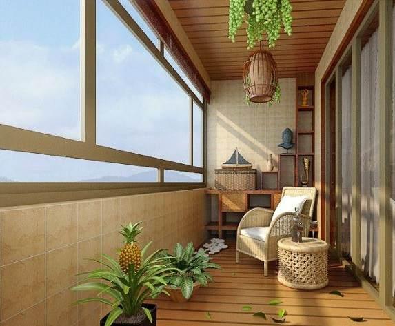 阳台物尽其用,闪亮的改造小户型阳台