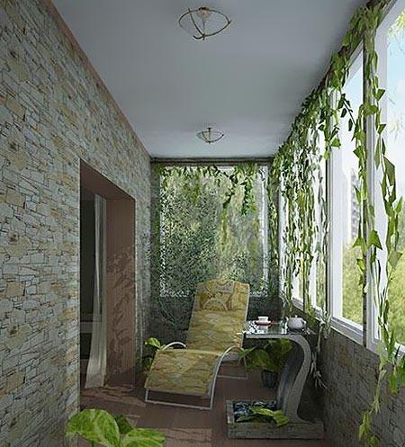 阳台改造之夏日清凉篇 轻松打造12个小平米纳凉区