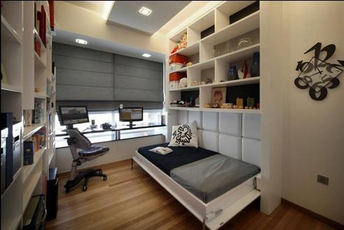卧室超强收纳技巧,精打细算是关键!