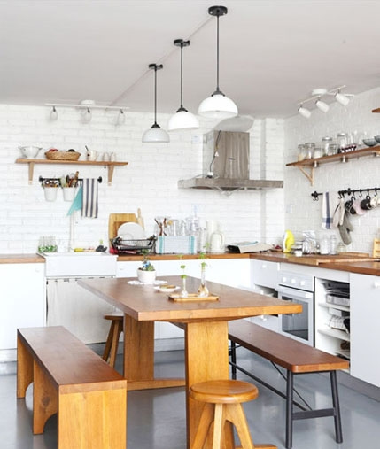 开放式厨房布局要注意的8个问题