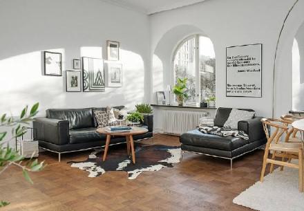 复古与极简的美丽邂逅,原木森林风格的室内设计