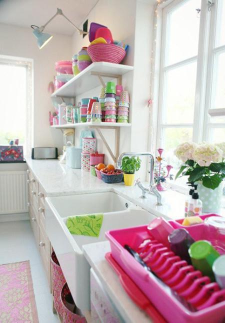 小清新厨房,淑女最爱的氧气空间