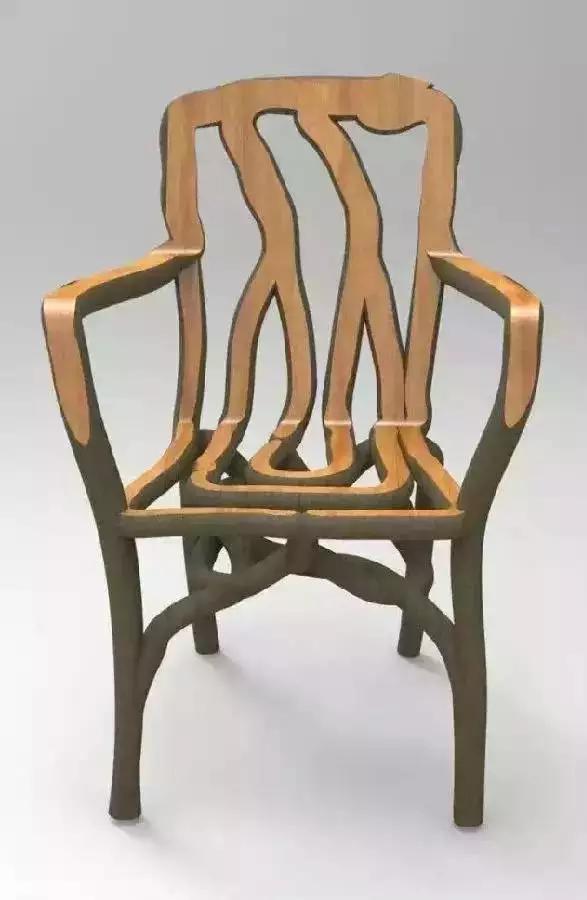 种出来的椅子,而且卖出了2.5万元一把的高价!