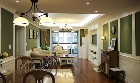 98平米美式2房,清包竟然也能这么高品质!