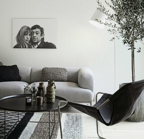 沙发颜色不好挑?首选最百搭、耐脏、耐看的浅灰色!