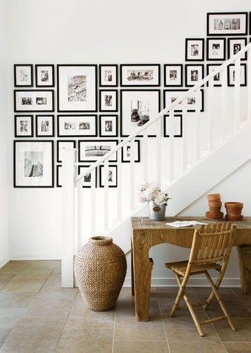 照片墙要如何挂才能避免乡村十字绣的喜感