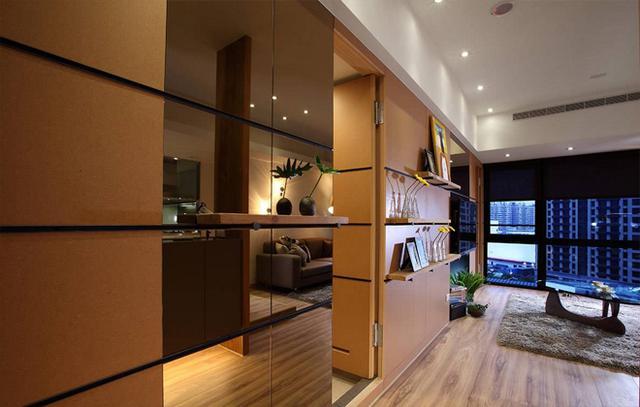 66平米的小居室,别人就能装修得如此简约又精致!