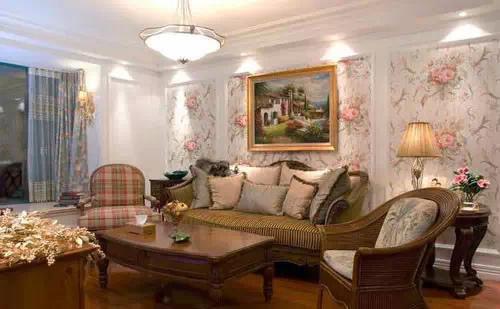 2015年最新款沙发背景墙效果图