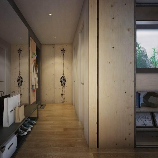 48平米打造个性化青年居室