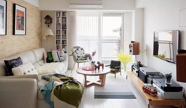 75平北欧风公寓,感受温暖
