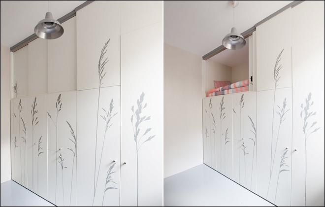 8平米卧室装修 还带独立卫生间