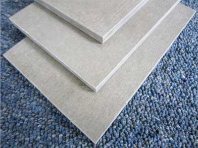 水泥纤维板的施工要点