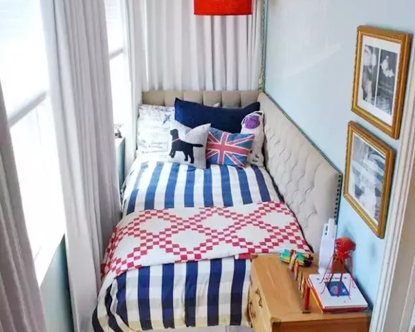 小户型装修不再愁 十招搞定6�O卧室