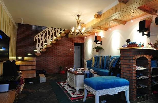 童话般的梦想之家,88�O美式小复式婚房