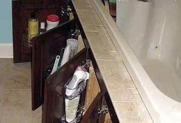 东西太多放不下,卫生间收纳方法, 简直绝了!
