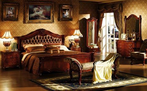 欧式卧室背景墙:不同时间不一样的享受!