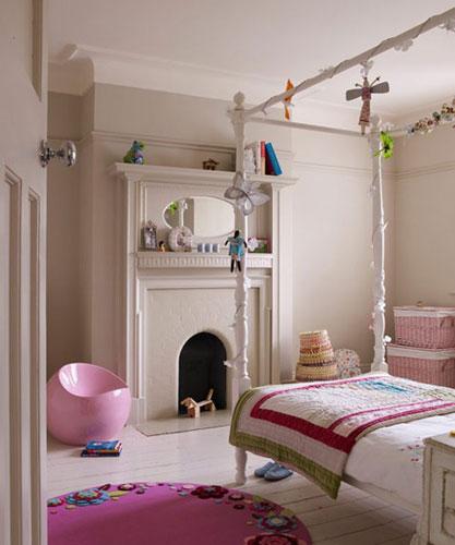 女孩闺房设计 万千宠爱女孩儿童房设计