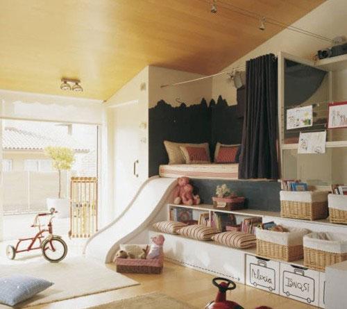 儿童房设计巧收纳 打造干净利落家