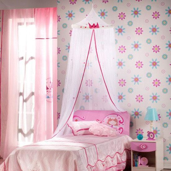 儿童房设计 家有女儿梦幻公主房
