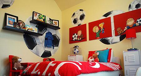 超酷主题儿童房设计 激发男孩运动细胞