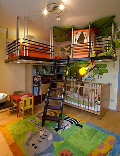 多姿多彩主题儿童房设计 孩子们的最爱