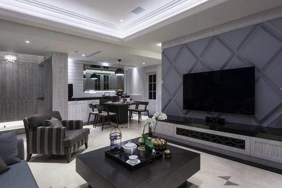 设计师魅力之作 8款客厅电视背景墙设计图片