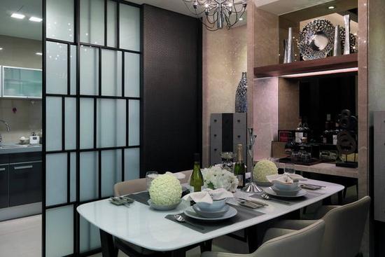 厨房与餐厅隔断设计