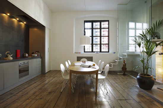 巧妙运用空间隔断 开放式厨房隔断方法