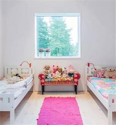 孩子们太脆弱 如何设计安全美观的儿童房?