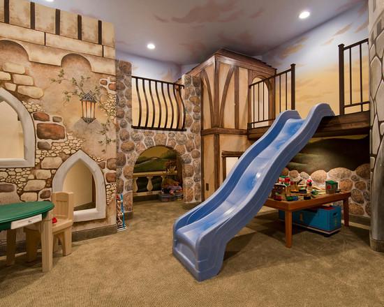 创意儿童房设计的至高境界 儿童城堡世界