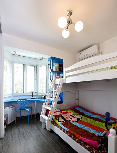 儿童房设计各个功能的划分