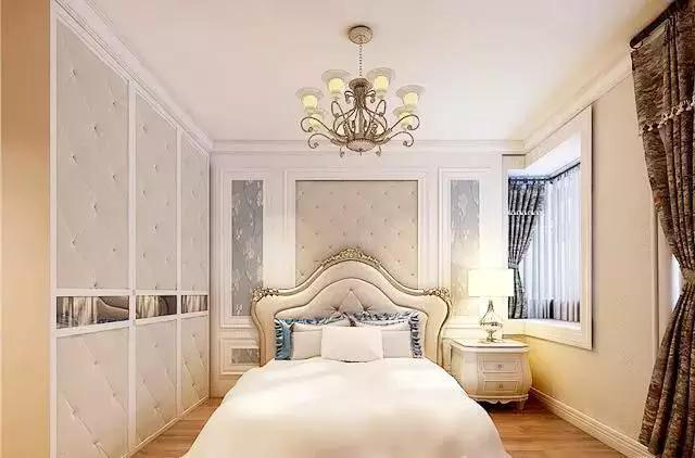 欧式卧室装修效果图,骨子里的华丽